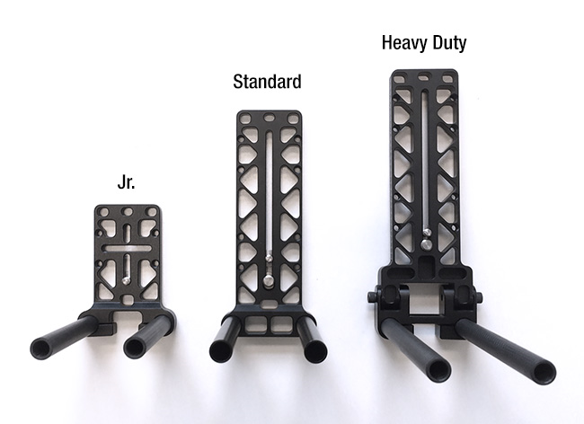 What are the differences between the Helix camera plates 02